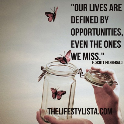 Our opportunities define us…