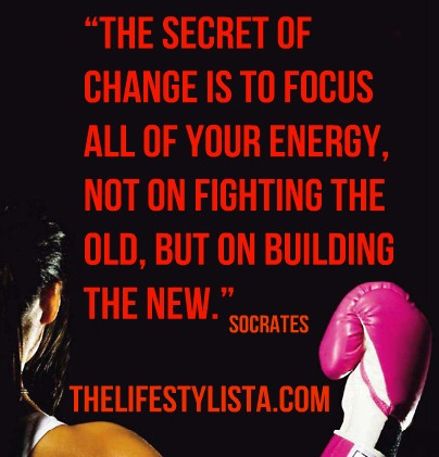 The secret of change according to Socrates… Put your boxing gloves!