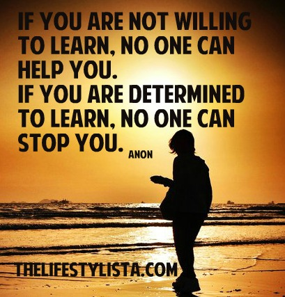 Which one are you? 'No one can help you' OR 'No one can stop you'…