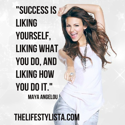 What success really is… according to Maya Angelou.