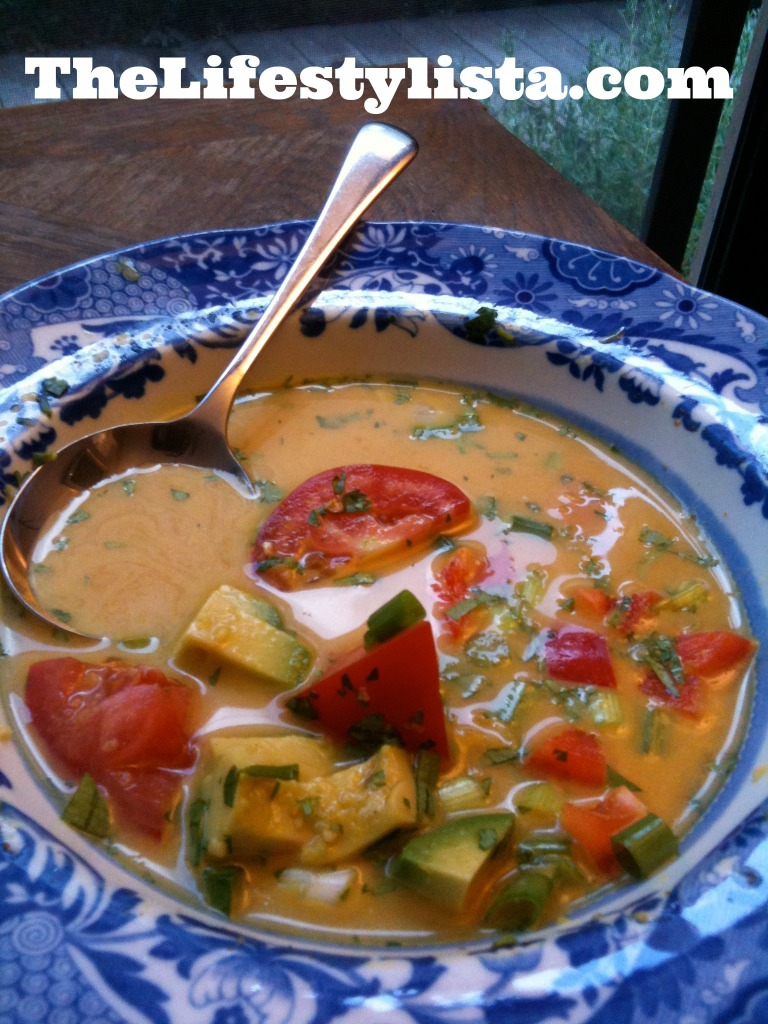 TropicalParadiseCoconutWaterCurrySoup