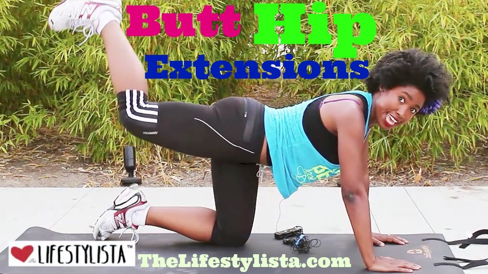BUTT LIFT HIP EXTENSIONS – tone, sculpt & lift that booty, behind, bottom!