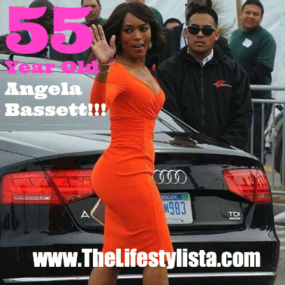 Age ain't nuthin but a number… This woman is NEARLY 60!!! Go Angela Bassett