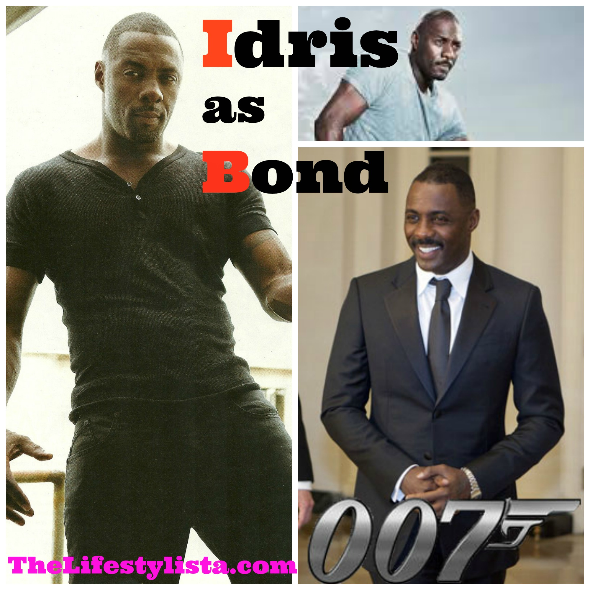 "Idris Elba had the PERFECT comeback for those UPSET PEOPLE who SAY ""NO"" to A BLACK BOND!  ""ISN'T 007 SUPPOSED TO BE HANDSOME?"""