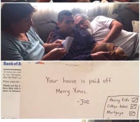 Grateful SON PAYS OFF PARENT'S MORTGAGE & RECORDS THEIR REACTIONS…