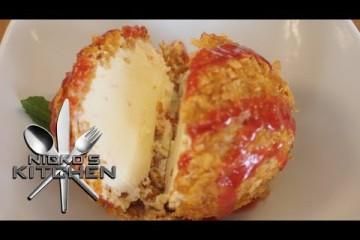 Tasty! DEEP FRIED ICE CREAM – A VIDEO RECIPE