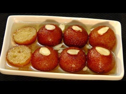Manjula S Kitchen Gulab Jamun