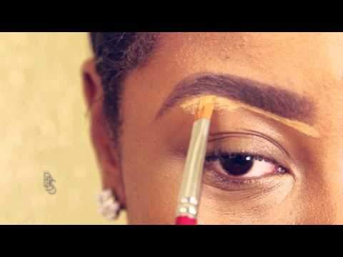 a 'how to' makeup tutorial for black women with easy steps