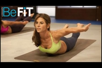 WOAH GIRL!  FEEL THE BURN… Jillian Michaels: Yoga Meltdown Level 1
