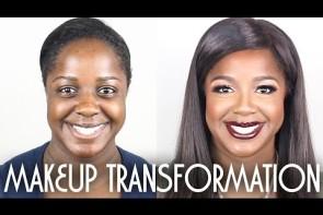 light / caramel skin makeup tutorial  contouring