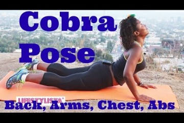 Yoga Cobra Pose to Flatten Your Belly & Strengthen Your Back – Bhujangasana / Cobra Pose