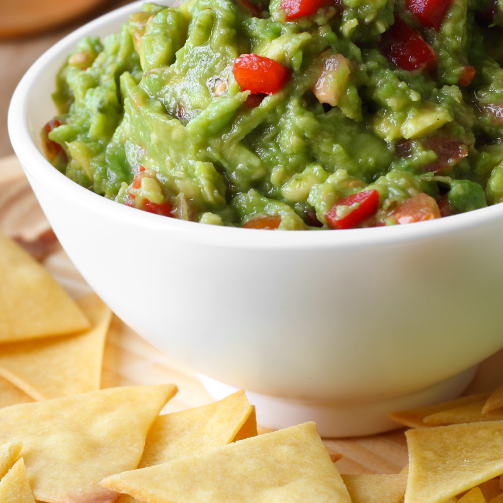 Perfect Guacamole made in seconds in a Vitamix